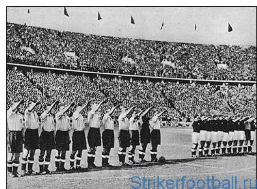 1939-1945 ФИФА и Вторая мировая война