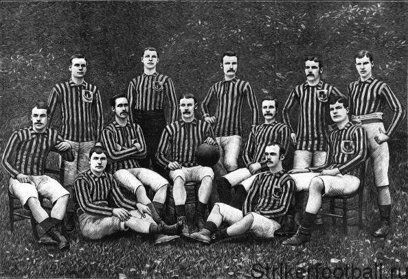 Экспорт футбола Великобританией в конце 19 в.