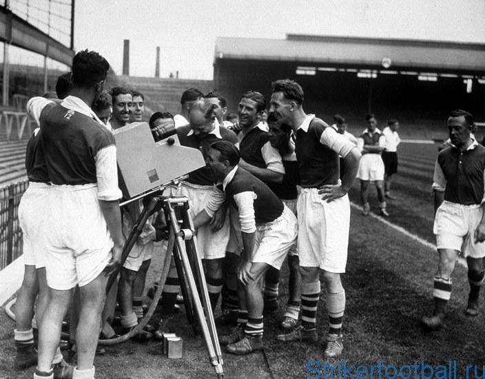 Приход футбола на телевидение
