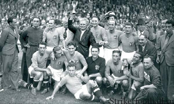 Чемпионат мира по футболу 1938 г., Франция