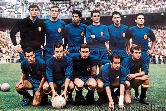 Кубок Европы по футболу 1964 г. , Испания