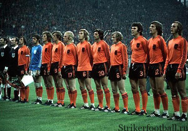 Сборная Голландия. Чемпионат мира по футболу 1974г.