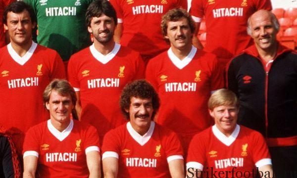 «Ливерпуль» был первой командой Первого дивизиона, на футболках которой появилась реклама спонсора. Мало кто мог предвидеть, какие огромные деньги будут фигурировать в современных контрактах.