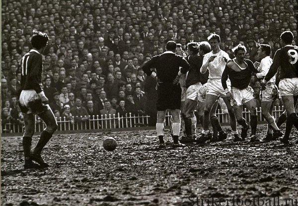 «Манчестер Юнайтед» и «Лидс Юнайтед»  1965 г.