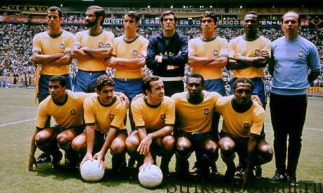 За долгие годы у Бразилии было много великих команд. То команда, которая приехало в Мексику в 1970 г., было одной из сильнейших.