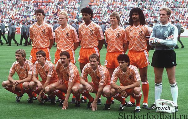 Чемпионат Европы по футболу 1988 г., ФРГ (начало)