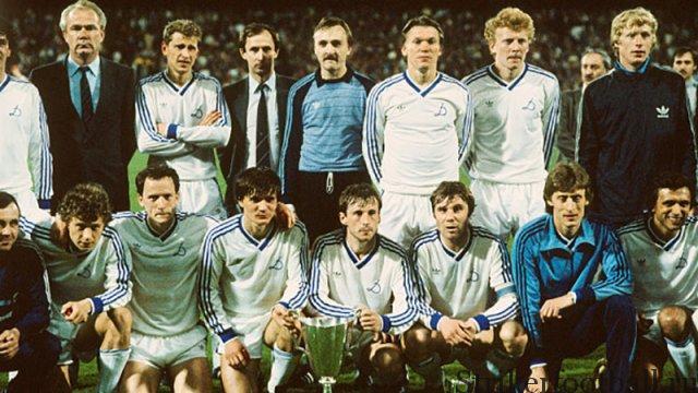 Киевляне не проявляют особых эмоций, празднуя свою победу, которая показала, насколько высок уровень футбола в Восточной Европе.