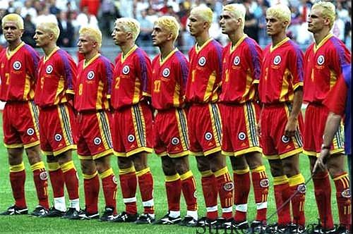 Всю ту удачу, которую принесли игрокам сборной Румынии выбеленные волосы на групповом этапе, украли у них игроки сборной Хорватии в следующем раунде, выбив их из турнира.
