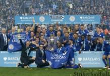 Лестер чемпион Английской Премьер Лиги.